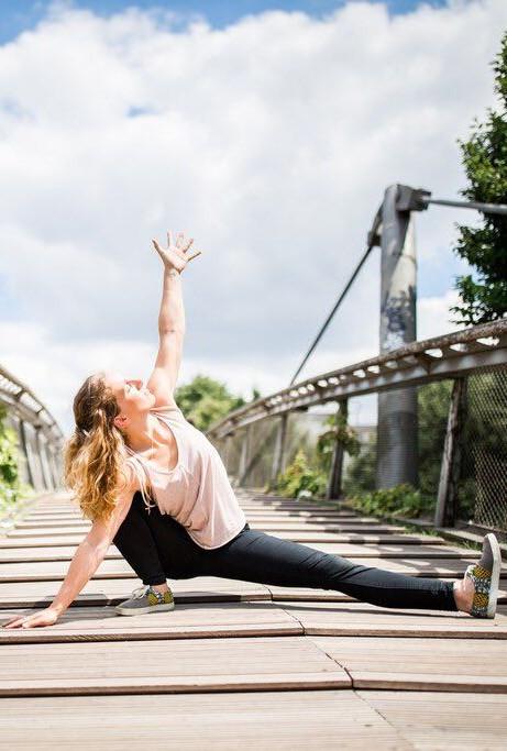 Anne-Laure Eberhardt, Yogalehrerin