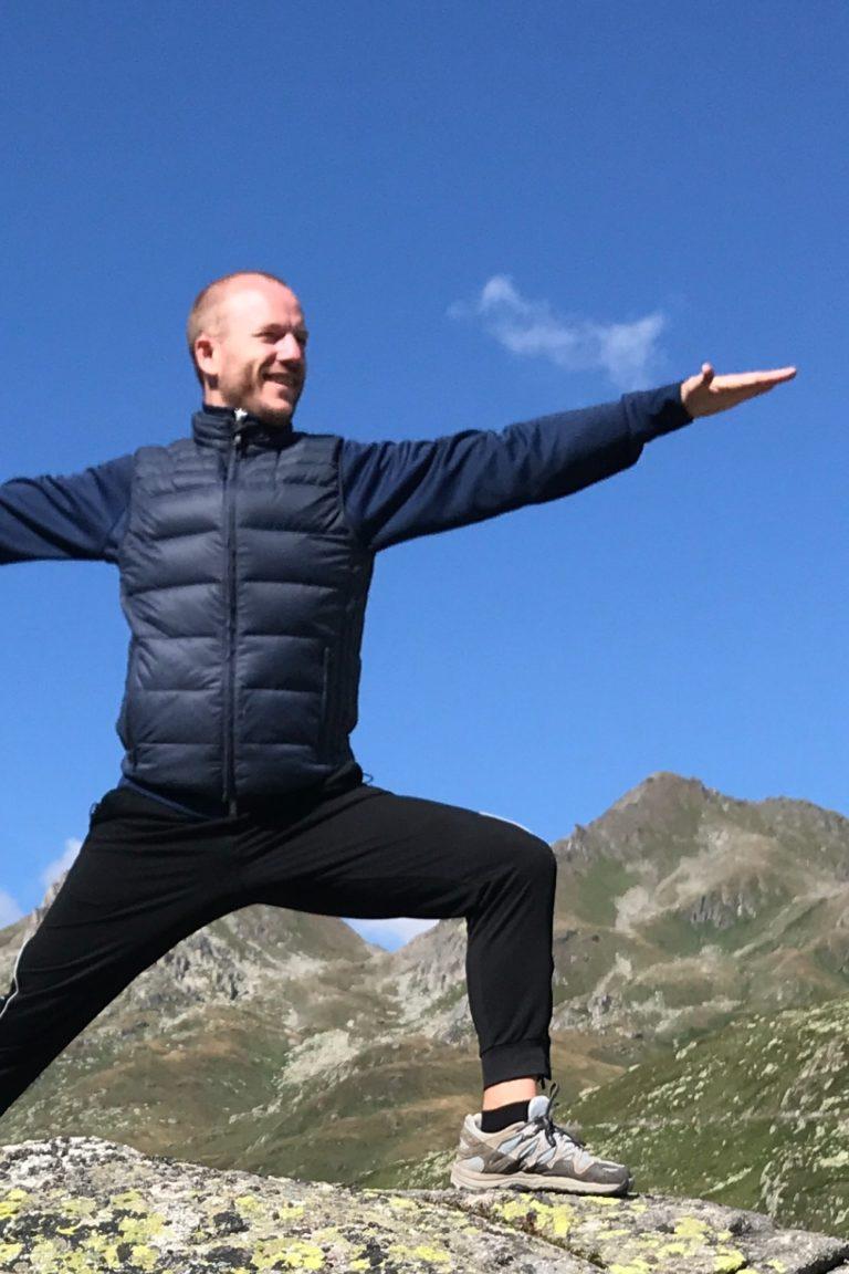 Dimitrij Itten, Yogalehrer