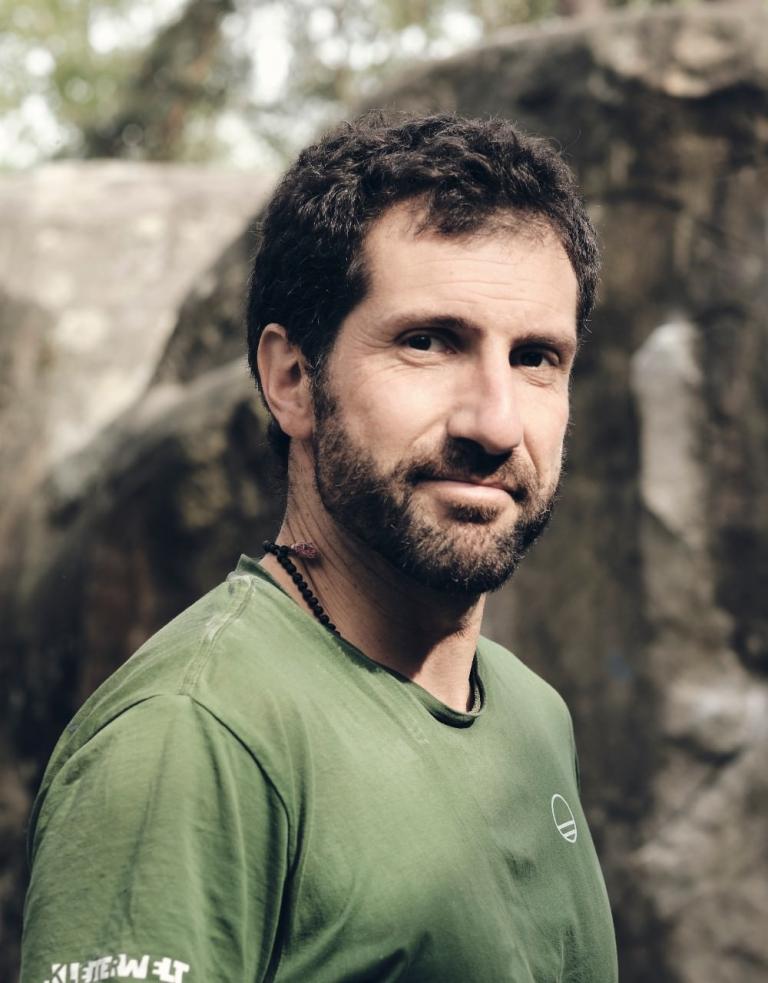 Fabio Lupo Kletterlehrer und Inhaber