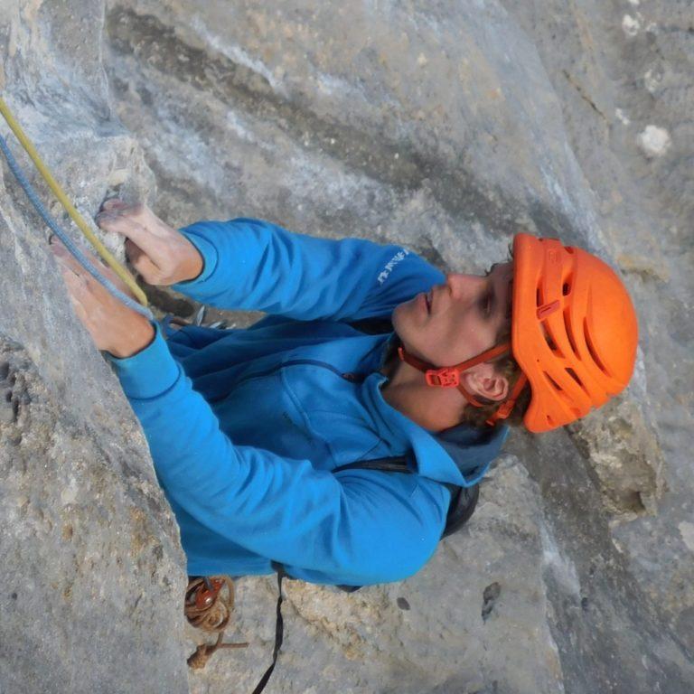 Matthias Ruh, Kletterlehrer mit Eidg. Fachausweis