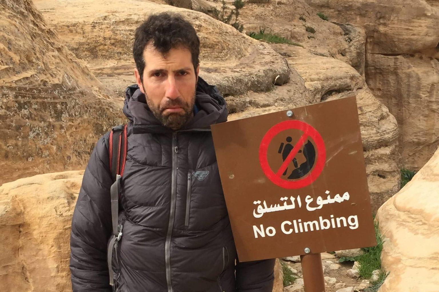 No Climbing wegen COVID-19