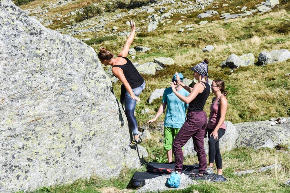 Bouldern Yoga Kletterwelt