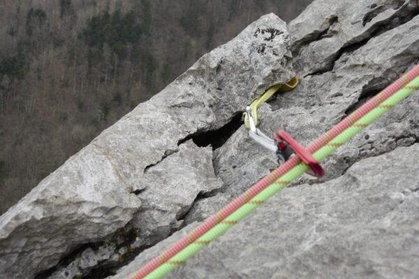 Grundausbildung Clean-Klettern in der Ostschweiz