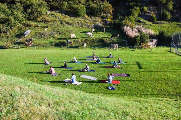 Klettern Yoga Kletterwelt
