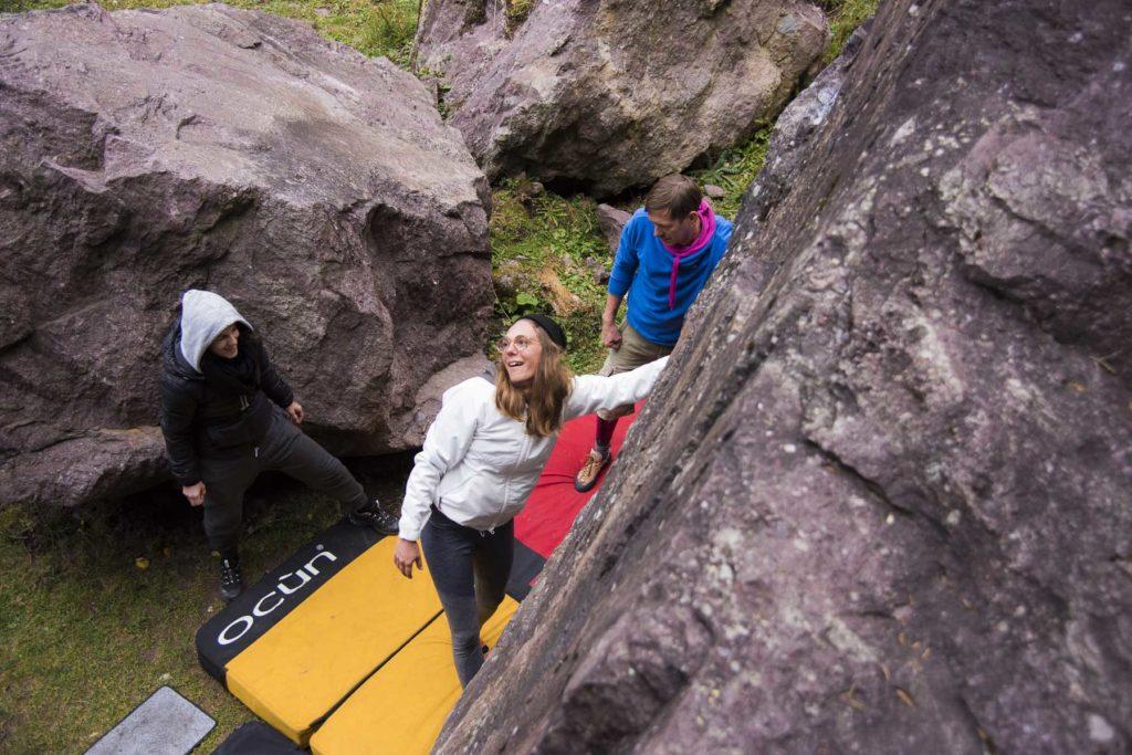 Bouldern Einsteiger Murgtal
