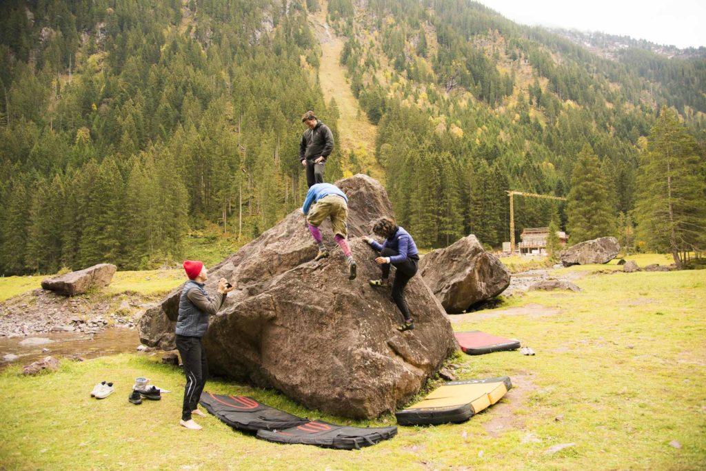 Bouldern Murgtal
