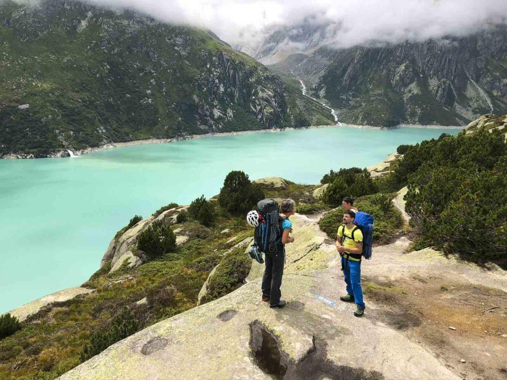Granitklttern Furka Gotthard
