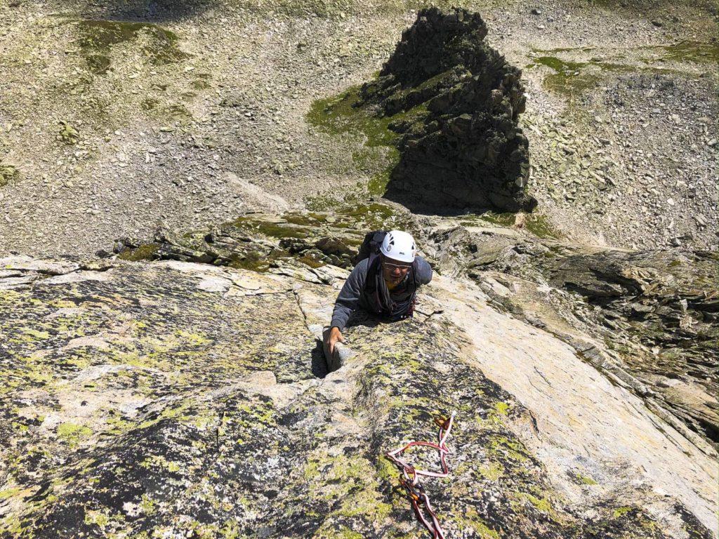 Granitklettern Grimsel 23