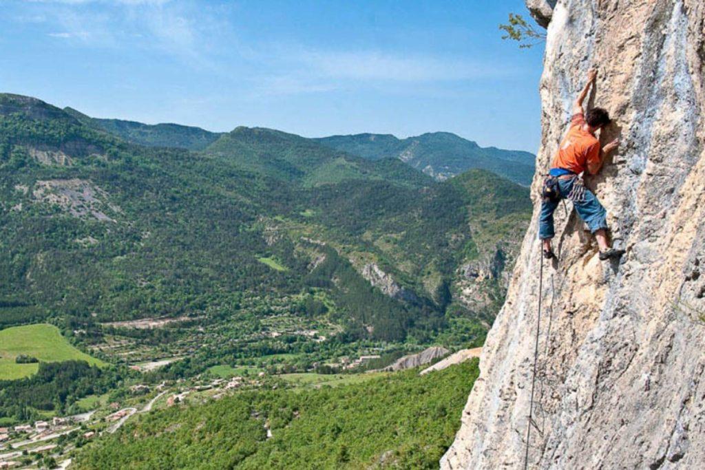 Klettern Orpierre 3