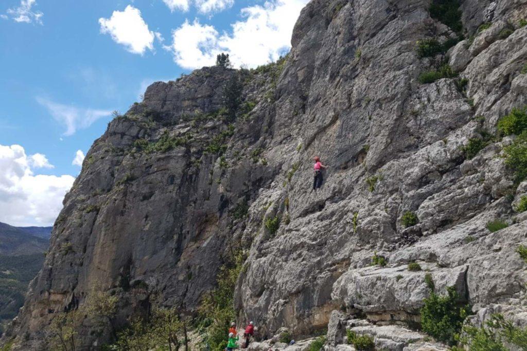 Klettern Orpierre 4